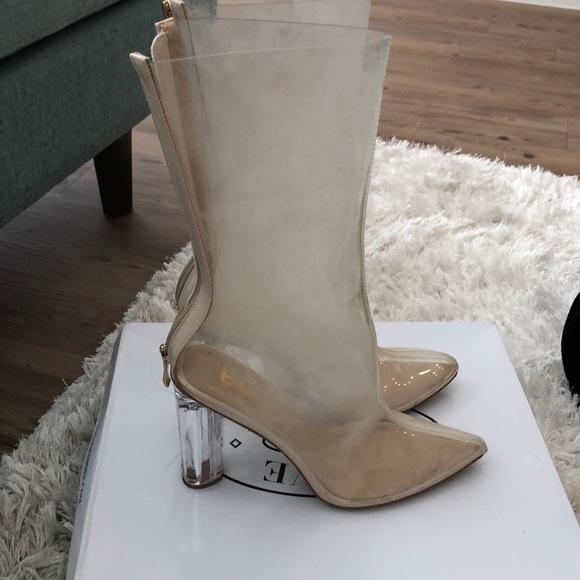 4aaf4704df0d2 Fashion Nova Shoes | Plastic Heels | Poshmark